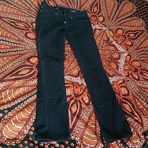 Corduroy straight leg pants